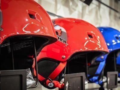 Helmets show